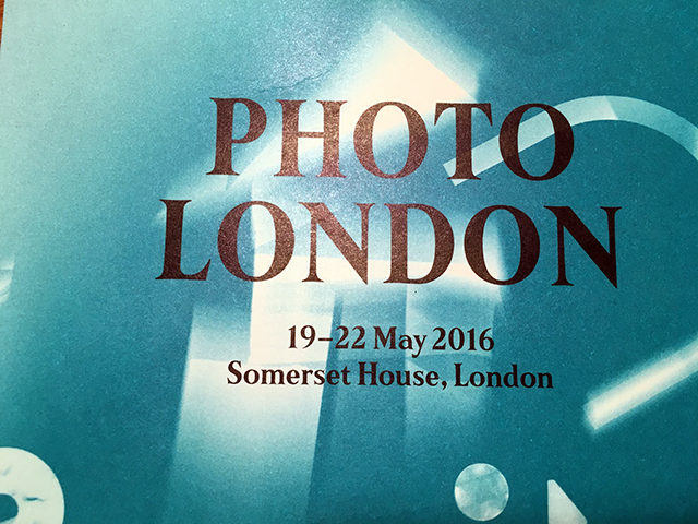 Photo Londen, Sumerset House, Galerie IBASHO, 2016